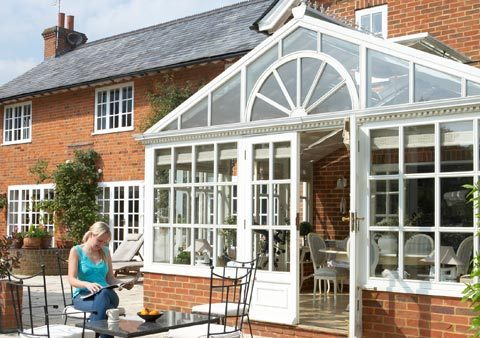 recent project for conservatories in Handforth